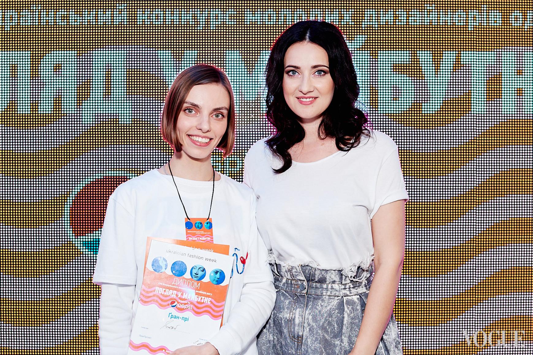 Мария Норец и Соломия Витвицкая