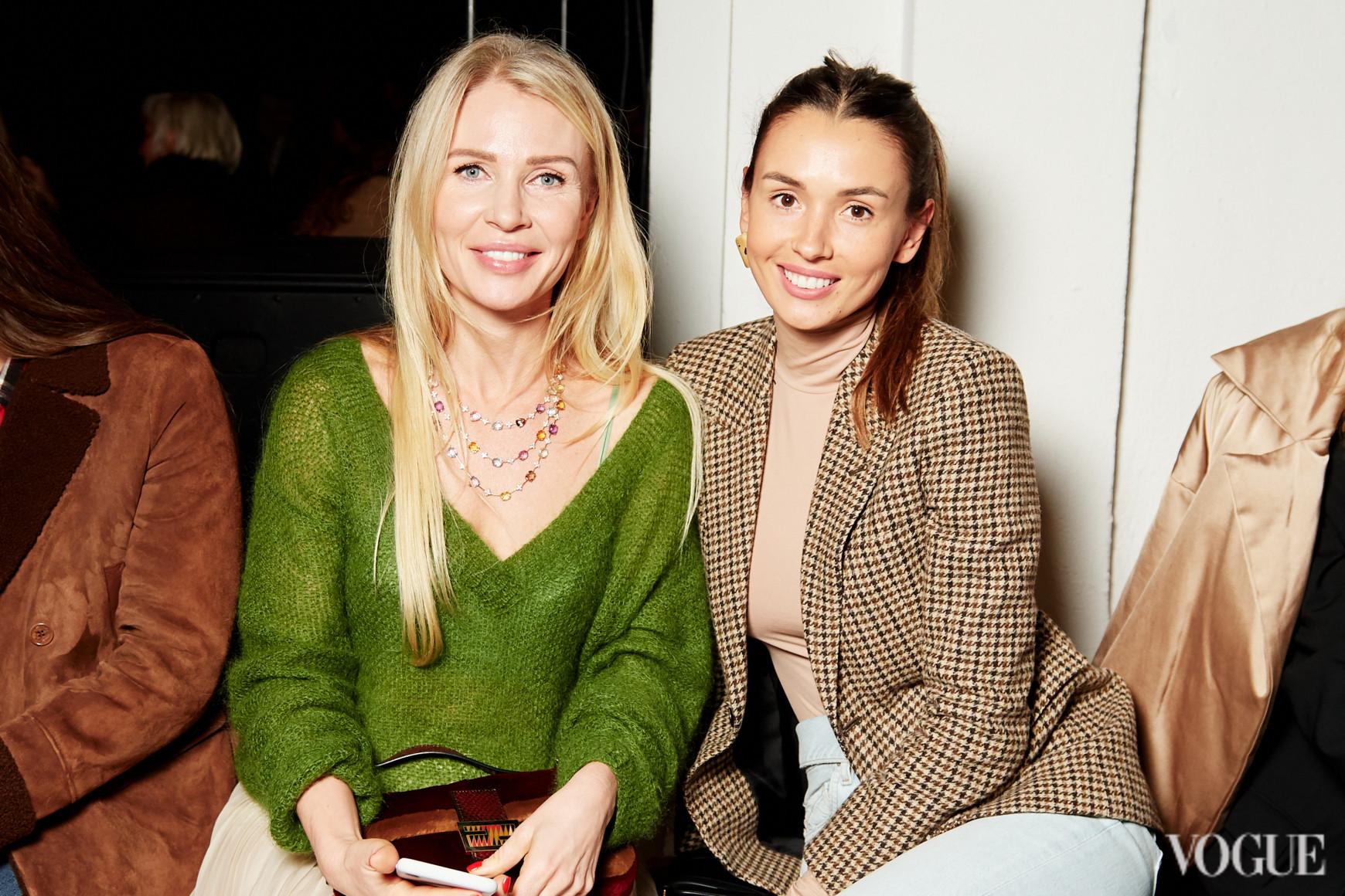 Анна Мартыненко и Лиза Ющенко