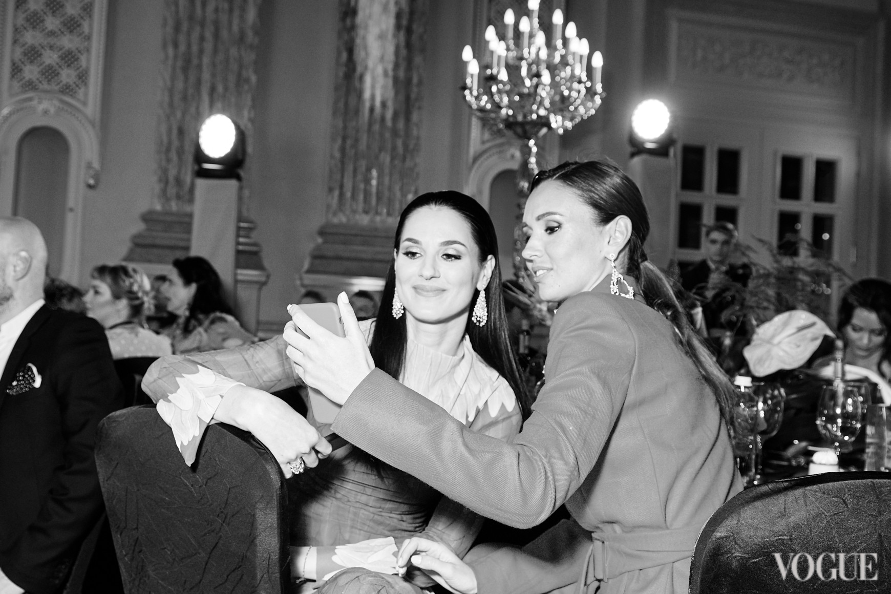 Маша Ефросинина и Елизавета Ющенко