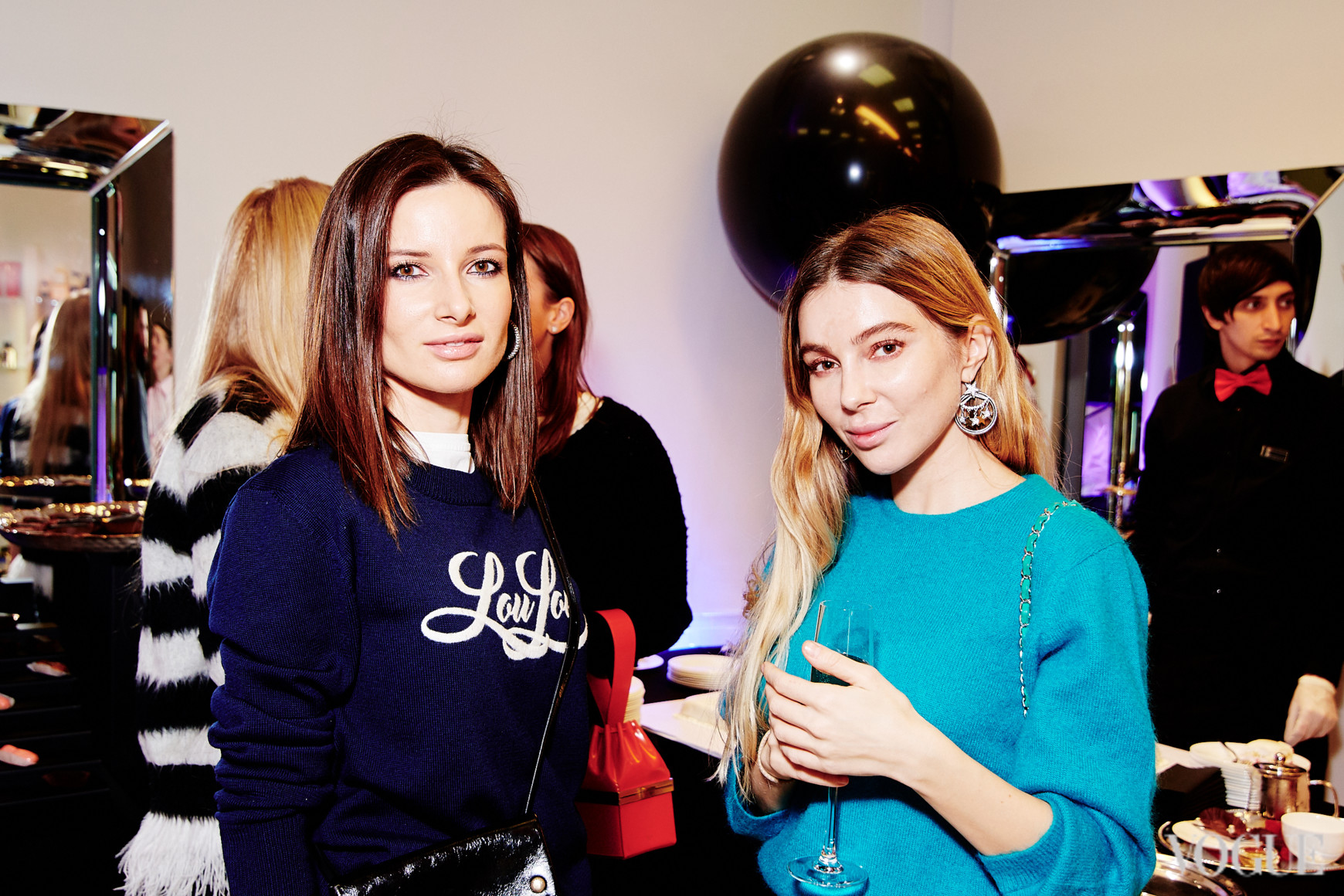 Полина Габович и Кристина Гончаренко