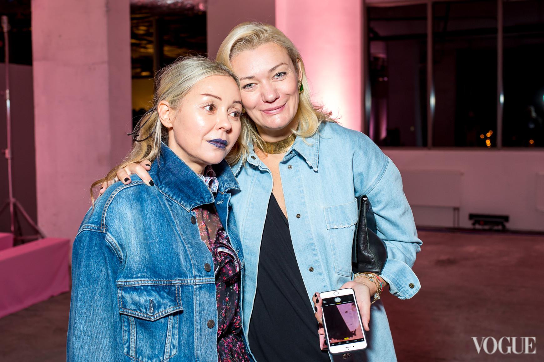 Оксана Берг и Ирина Ковальчук
