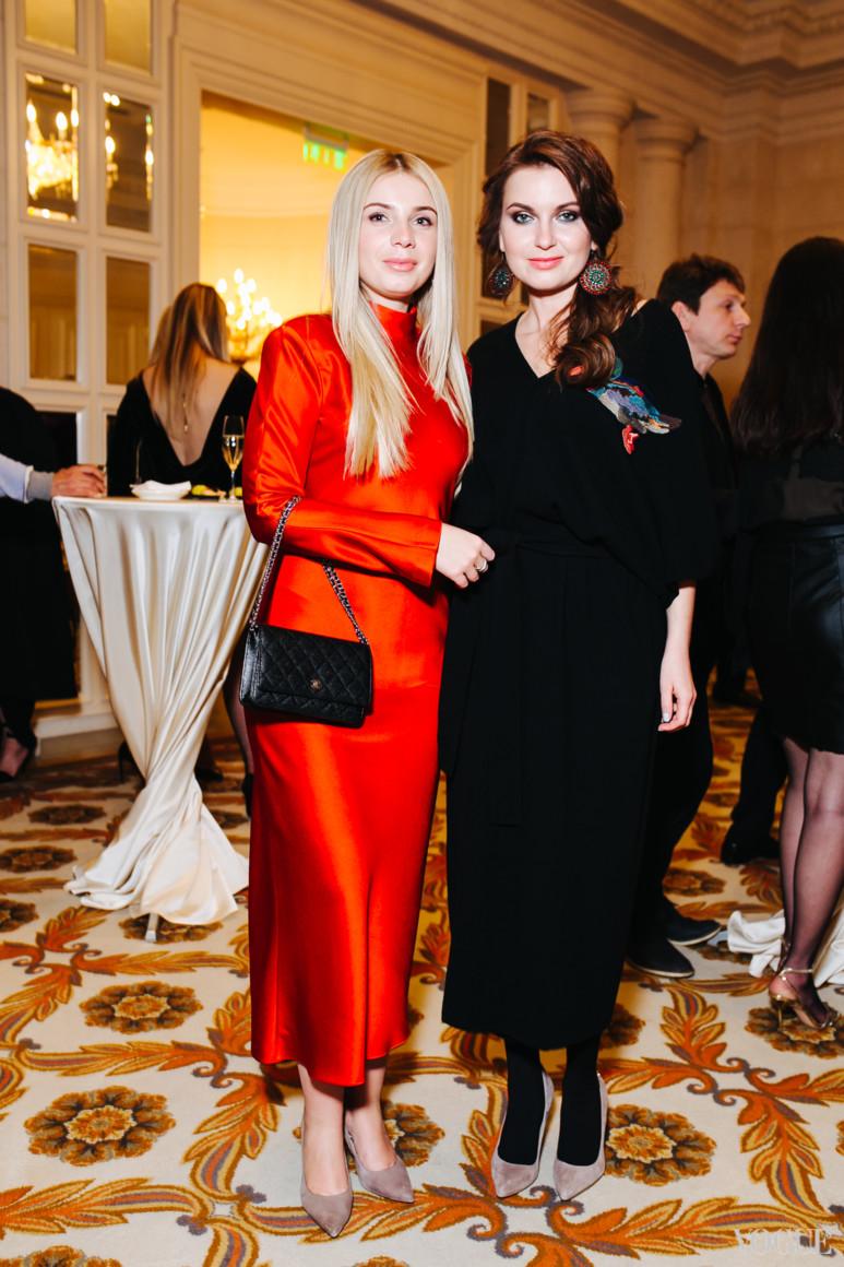 Нина Левчук и Елена Добрынская