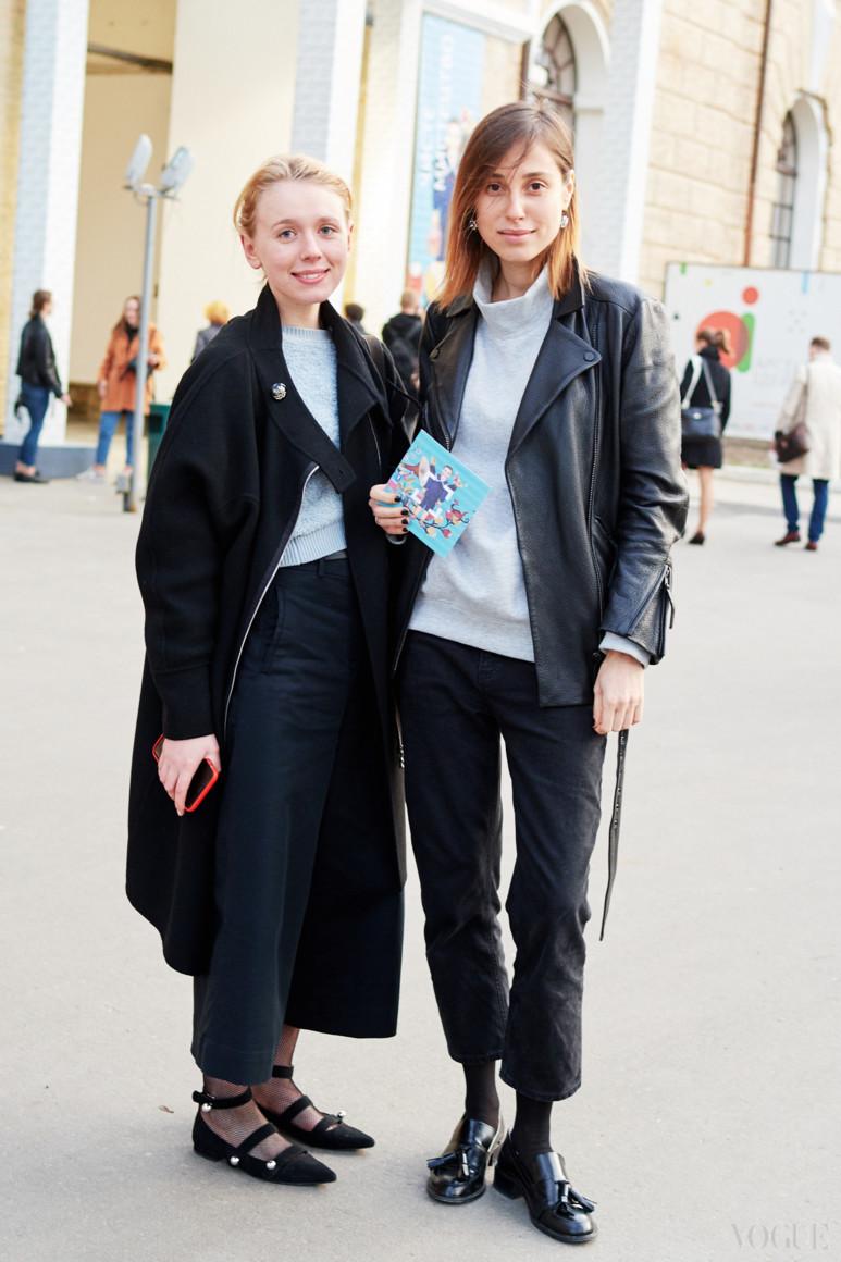 Мария Гаврилюк и Наталья Каменская