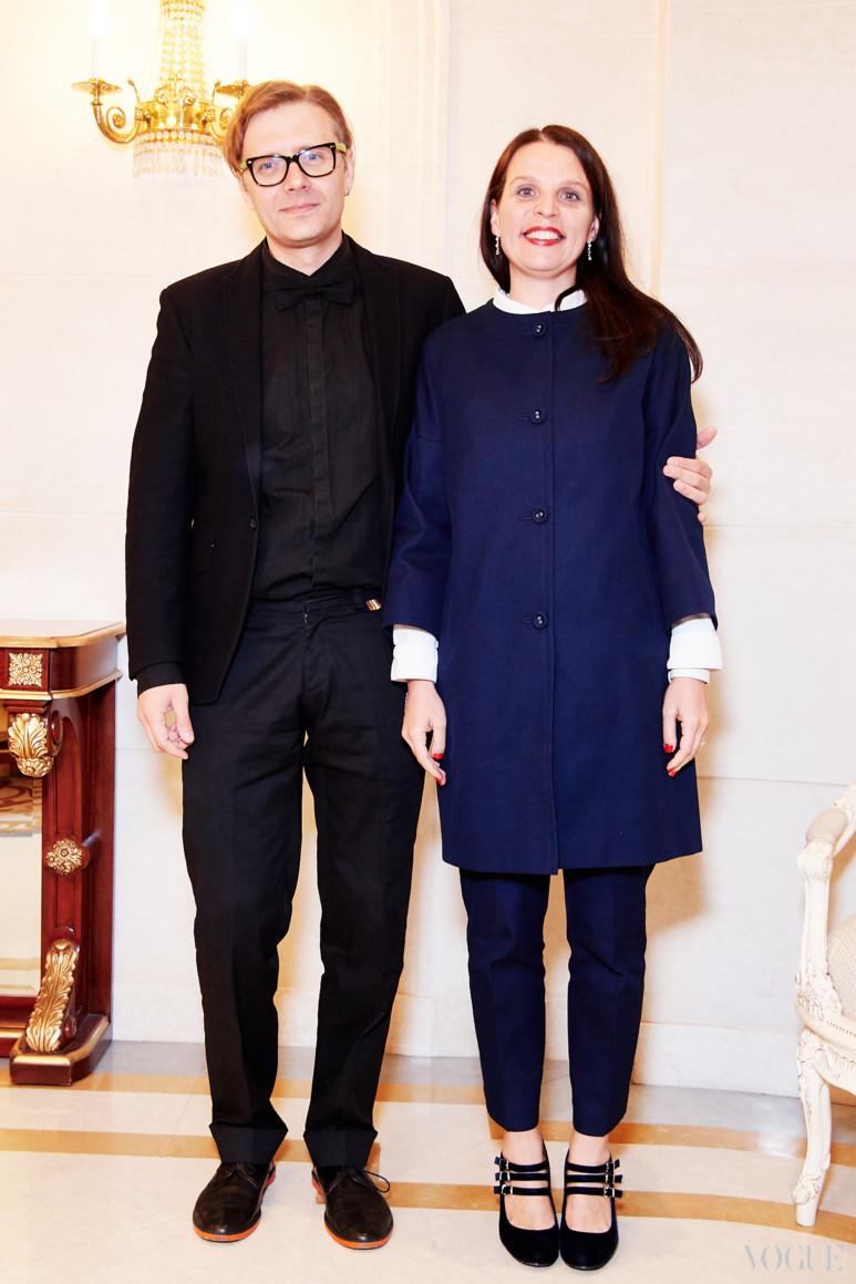 Денис Иванов и Марина Шух