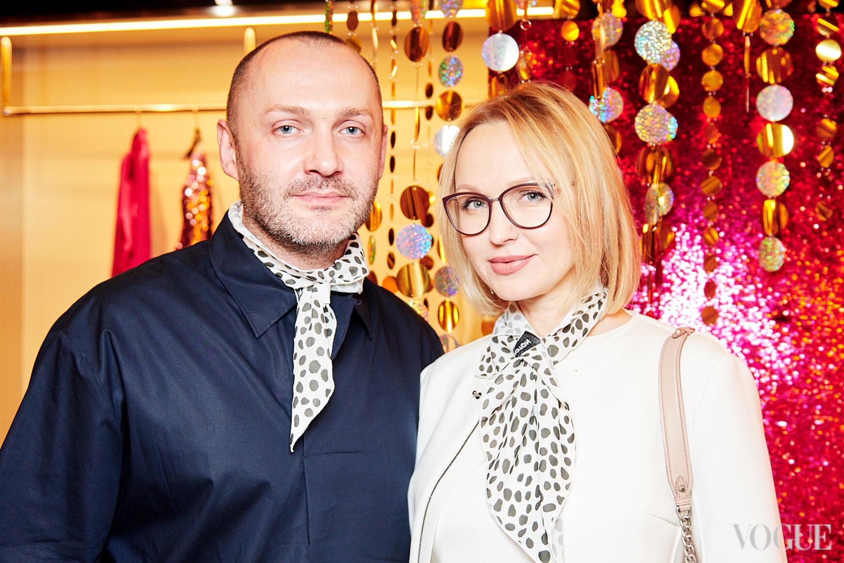 Константин Путиленко и Елена Ева