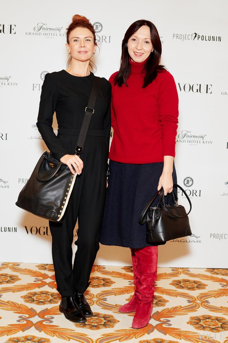 Ольга Пында (слева)