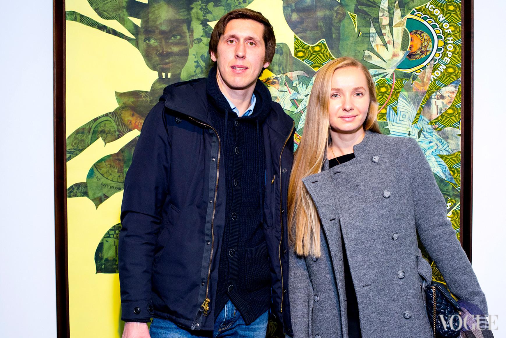 Максим и Юлия Волошины