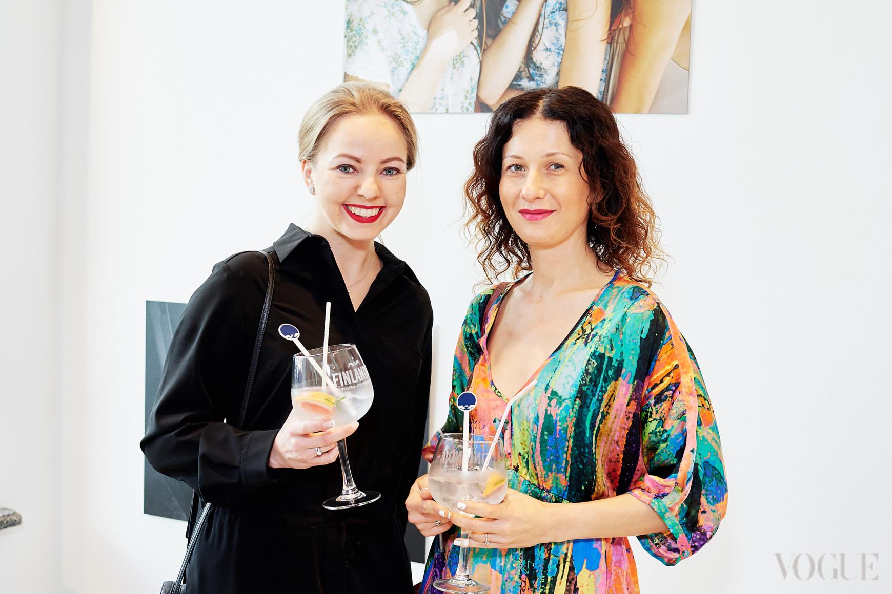 Наталья Лавринович и Светлана Рощук