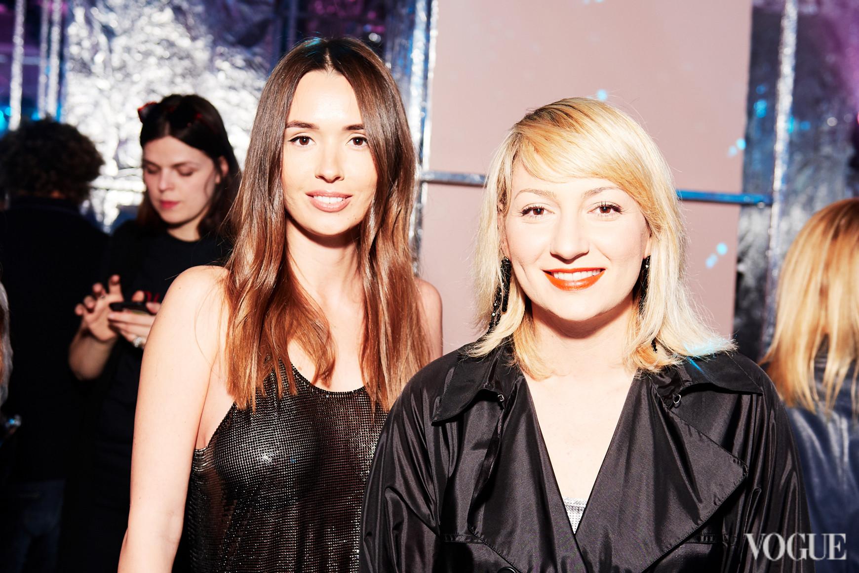 Лиза Ющенко и Ася Мхитарян