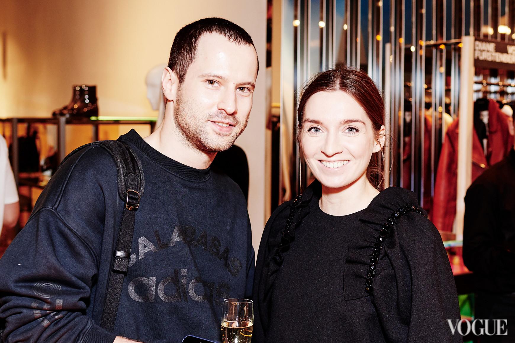 Павел Печенюк и Елена Пащенко
