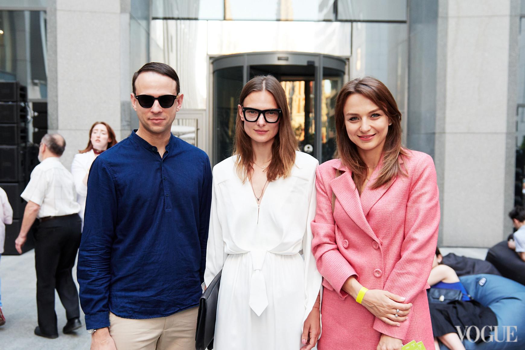 Павел Орлов, Татьяна Рубан и Алена Масюткина