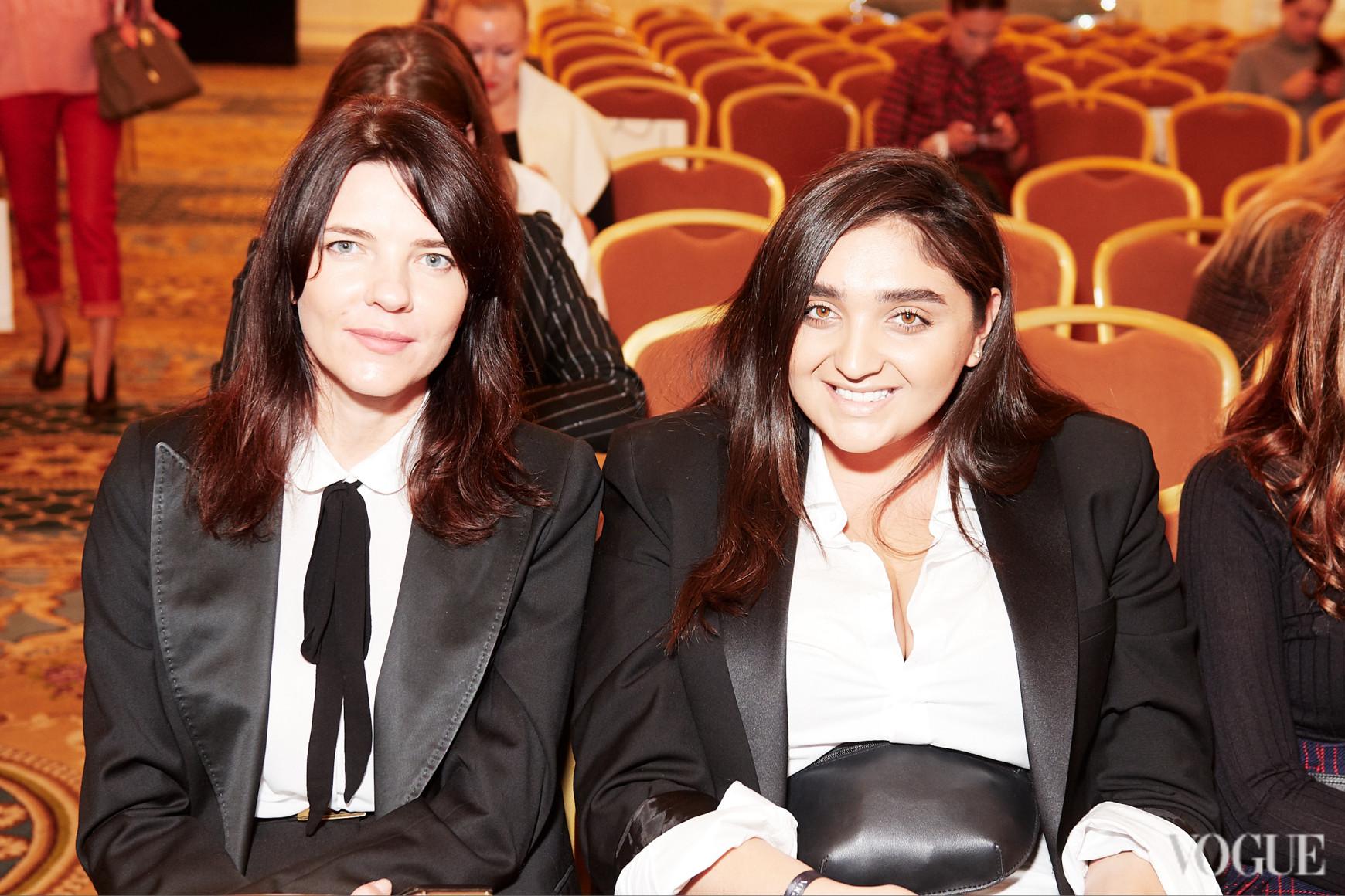 Эльвира Гасанова (справа)