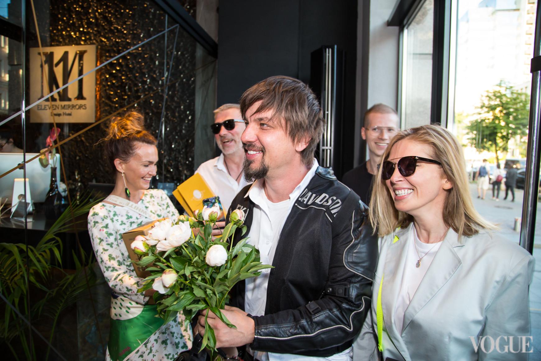 Игорь Кириков и Ольга Навроцкая