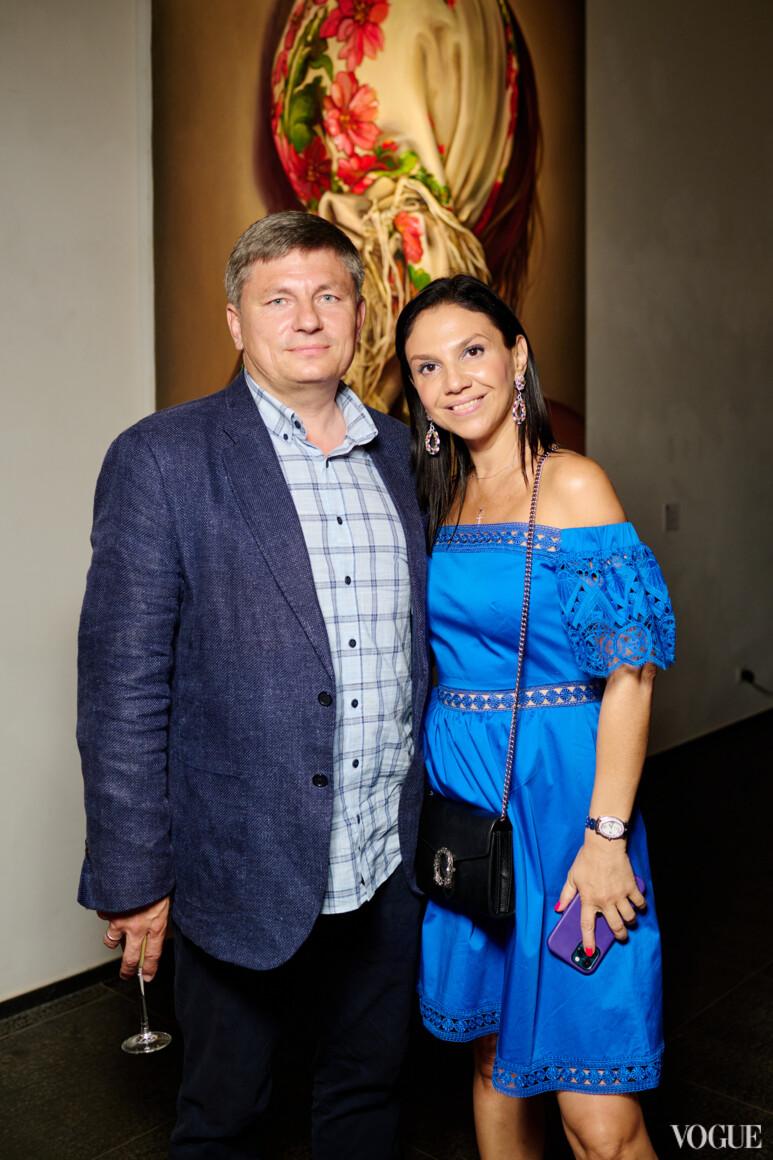Наталья Бухалова с мужем