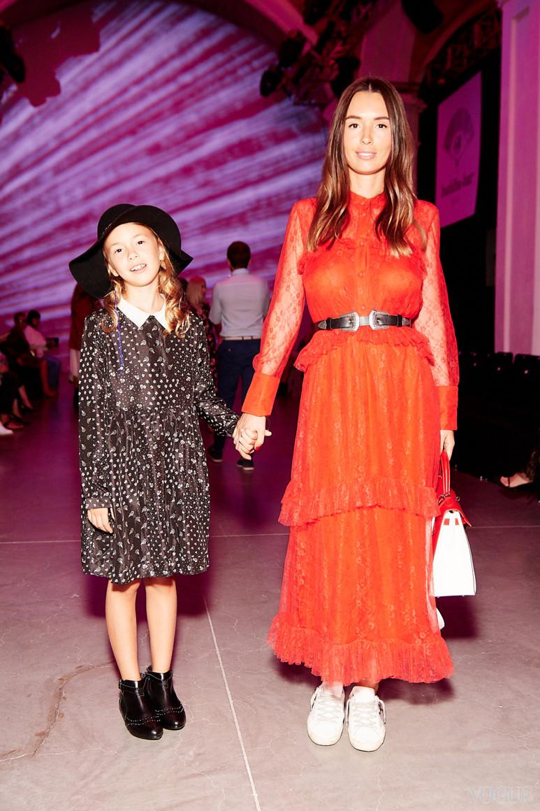 Елизавета Ющенко с дочерью Варварой