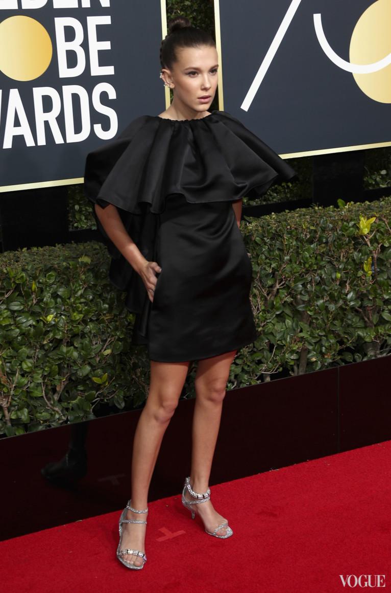 Милли Бобби Браун в Calvin Klein