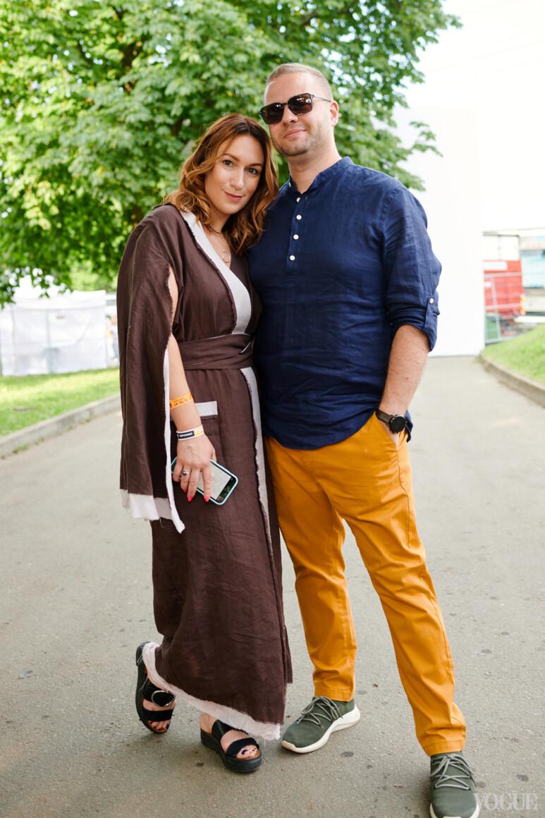 Дарья Слободяник и Андрей Ковалев