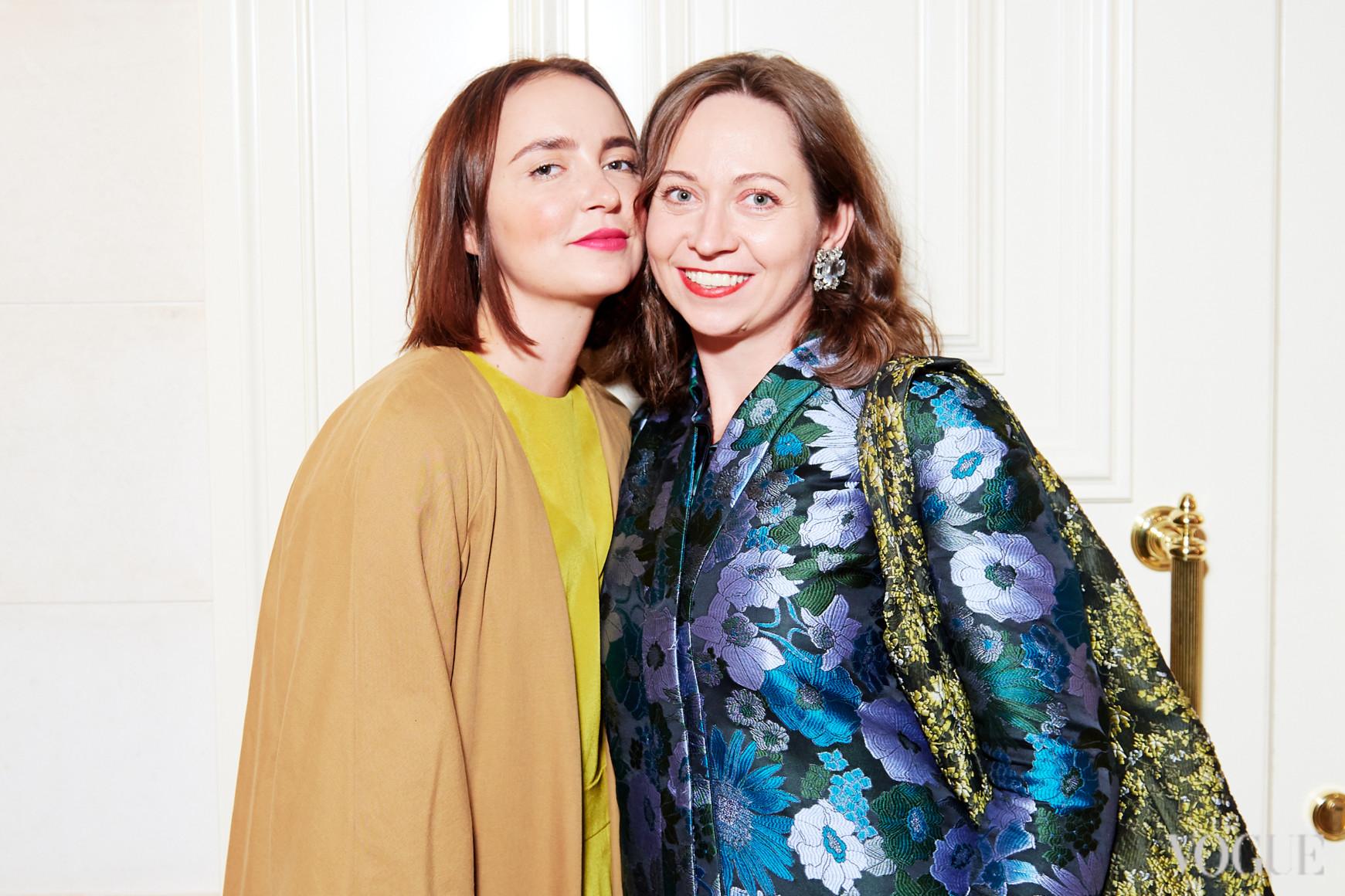 Анастасия Рябоконь и Олеся Кононова