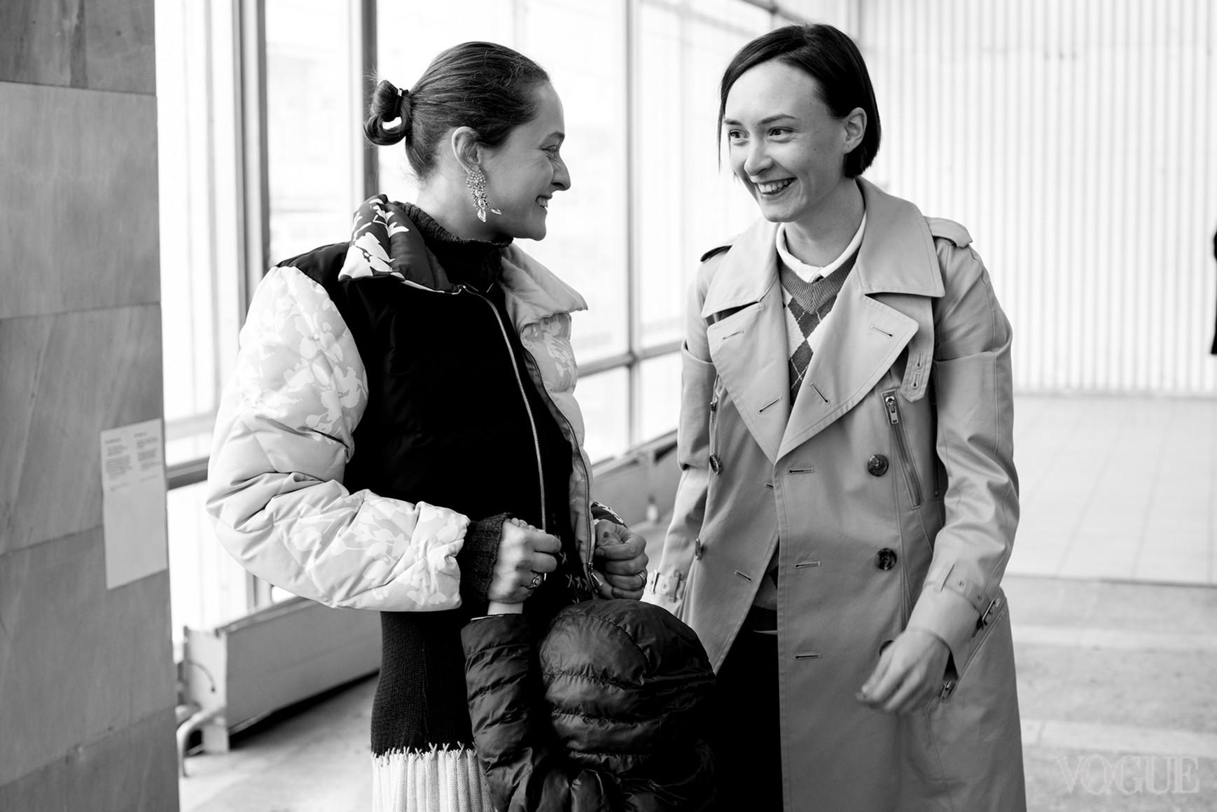 Дарья Шаповалова и Ольга Сушко