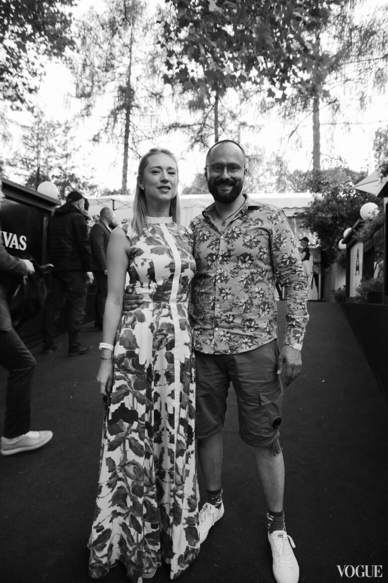 Мария Гриффин  и Евгений Гусовский