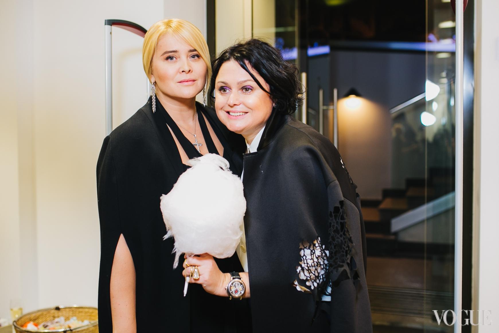 Светлана Евдокименко и Хрыстя Храновская