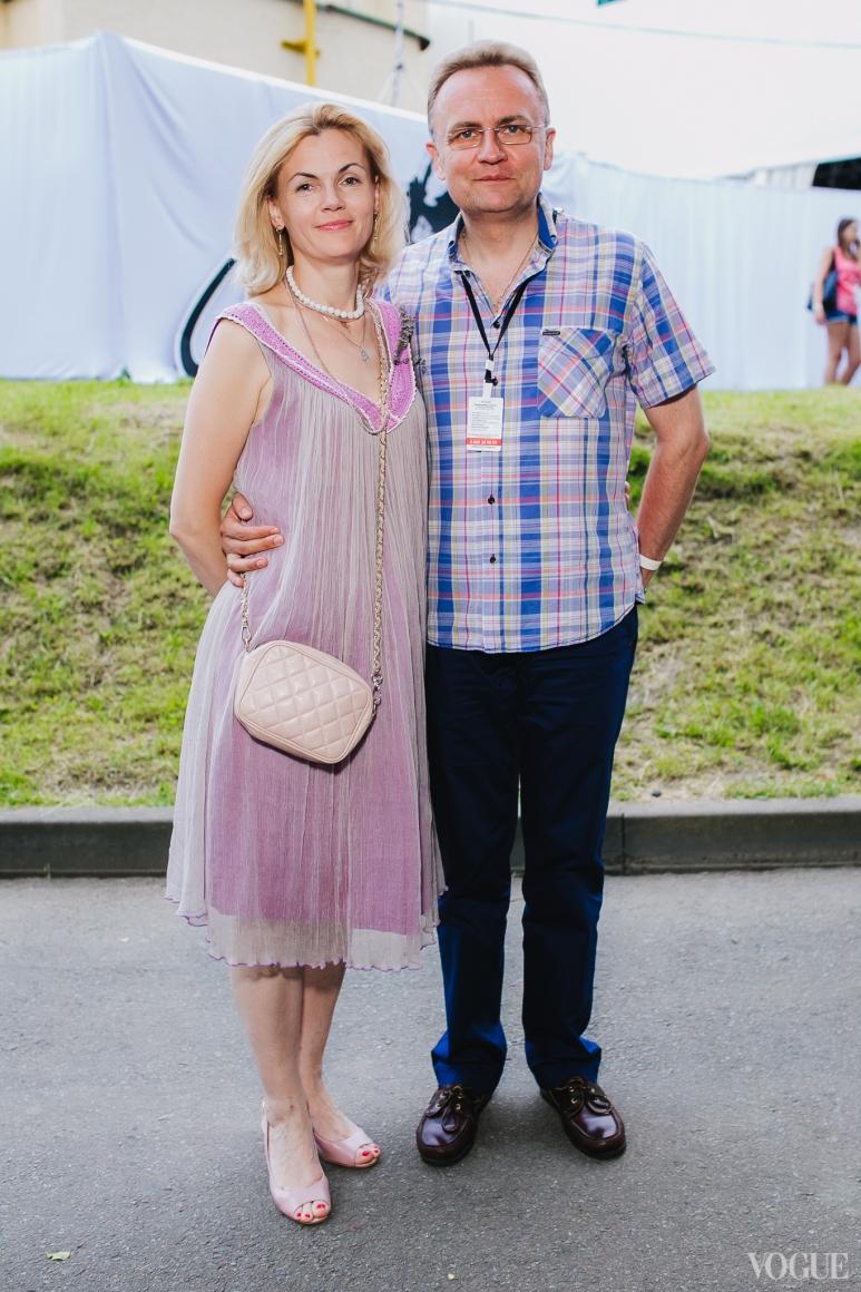 Екатерина и Андрей Садовые