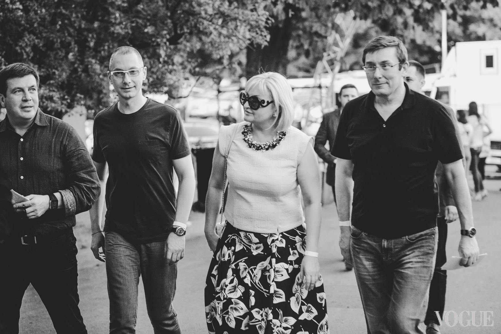 Борис Ложкин, Ирина и Юрий Луценко