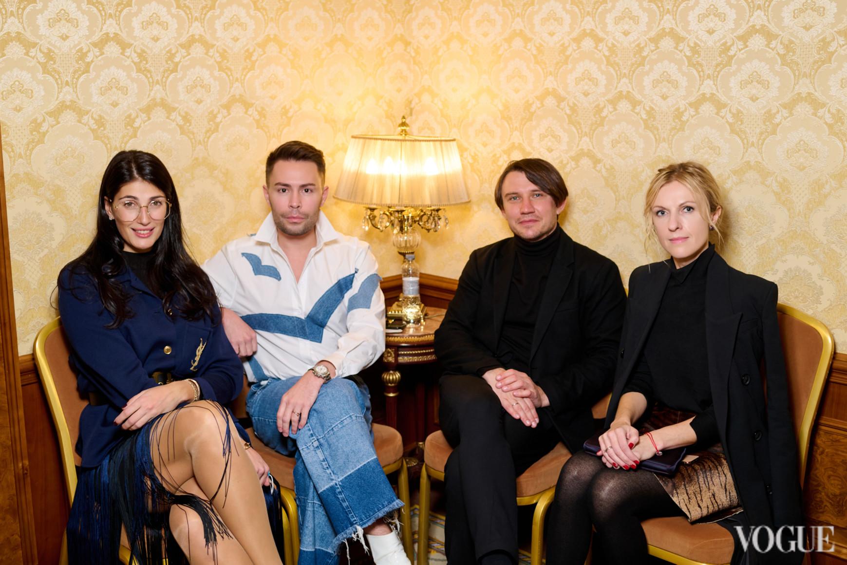 Ольга Джарты, Алексей Прищепа, Александр Бреус и Юлия Костецкая
