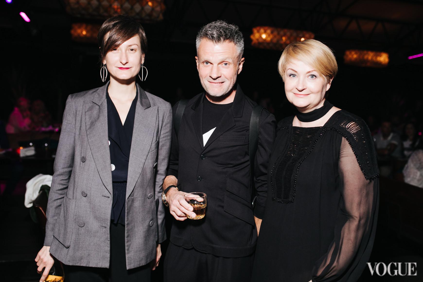 Татьяна Соловей, Виктор Анисимов и Ирина Данилевская