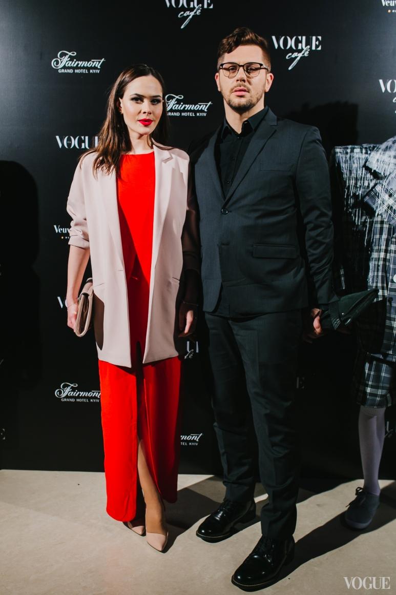 Юлия Санина и Слава Чайка