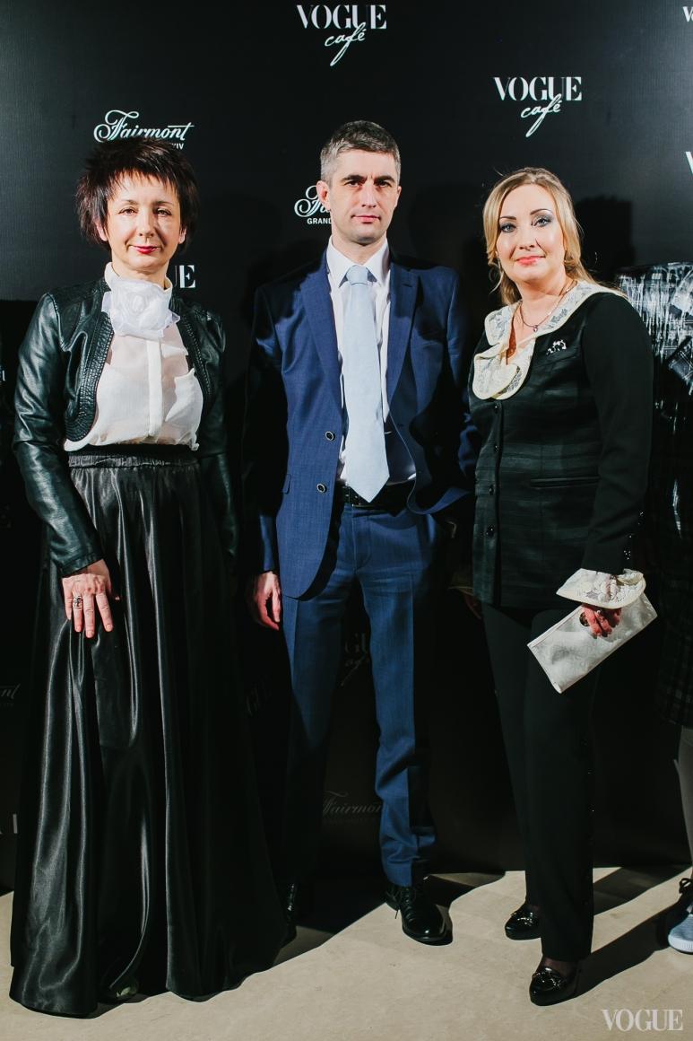 Наталья Пащенко, Евгений Лященко и Елена Чернова