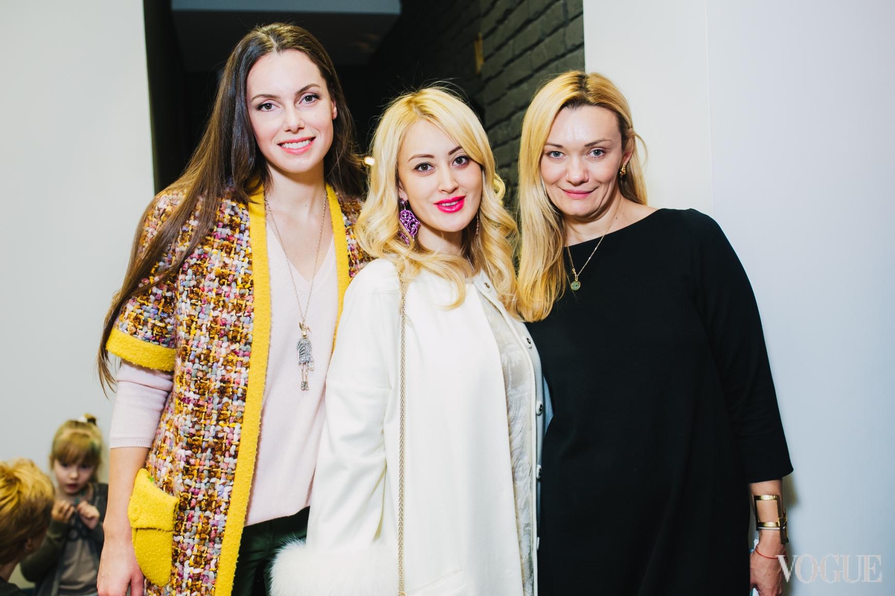 Елена Мигдисова, Яна Югай и Ирина Ковальчук