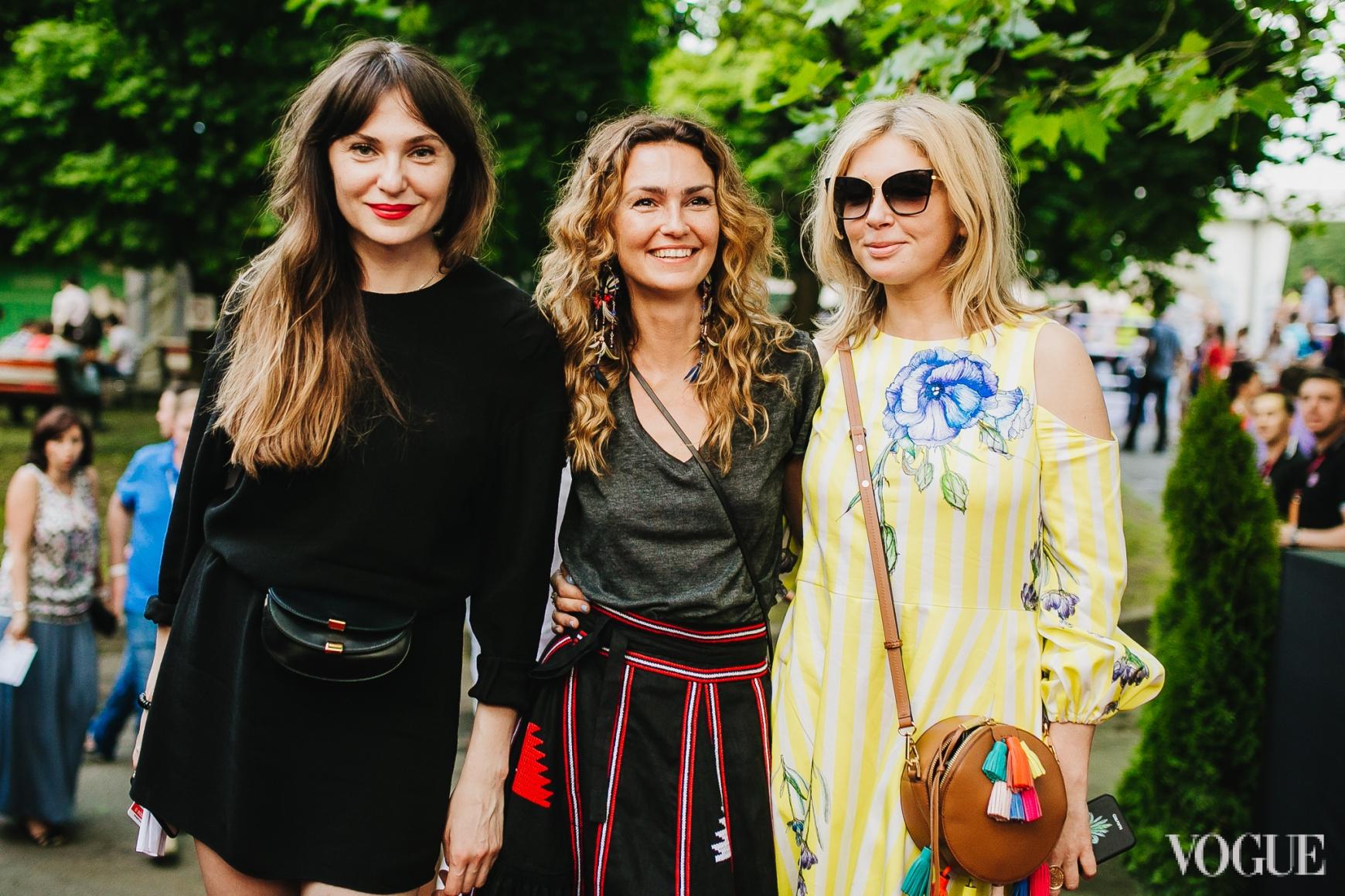 Ольга Слонь, Ирина Костюк и Ольга Навроцкая