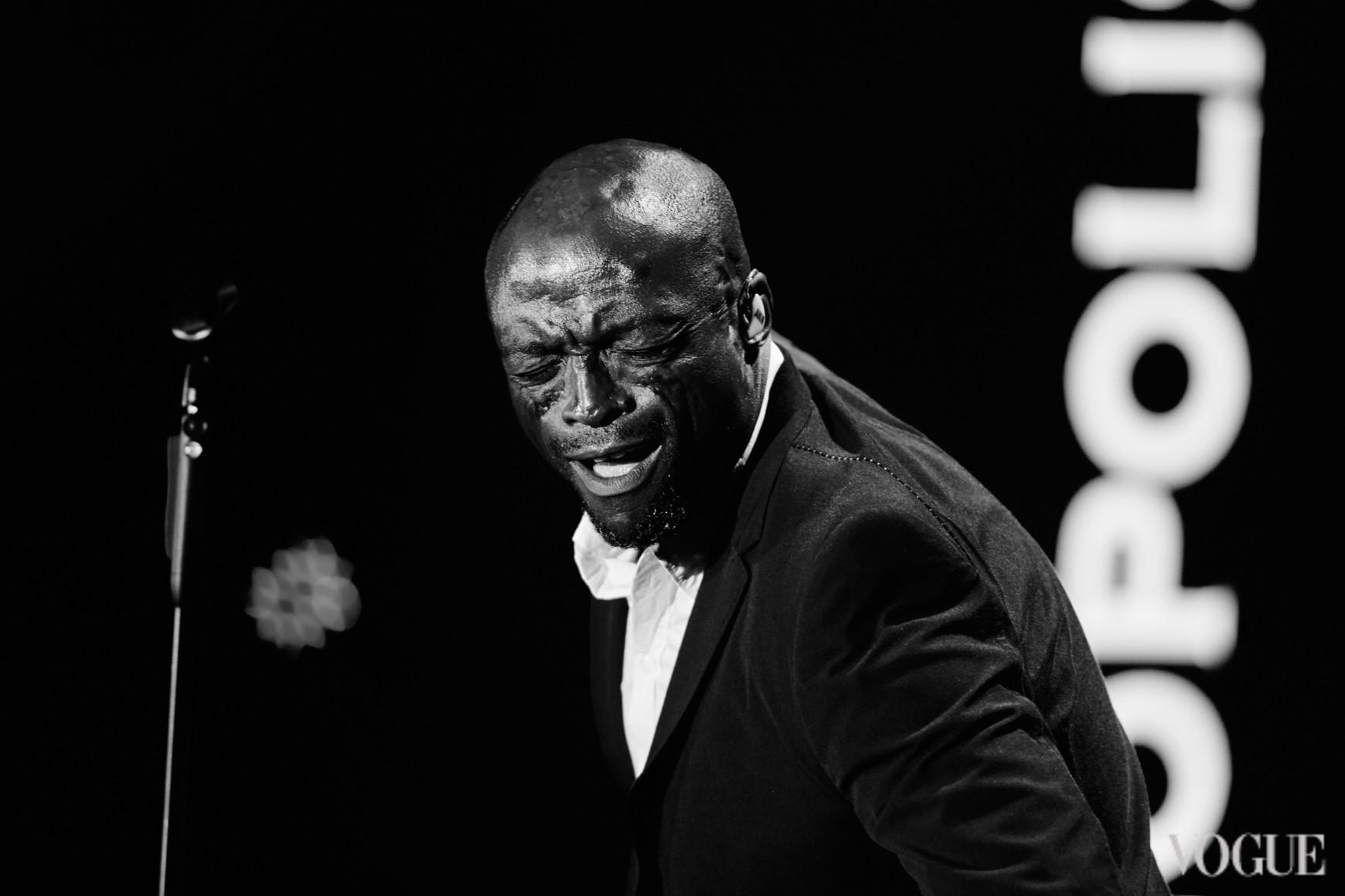 Выступление Seal