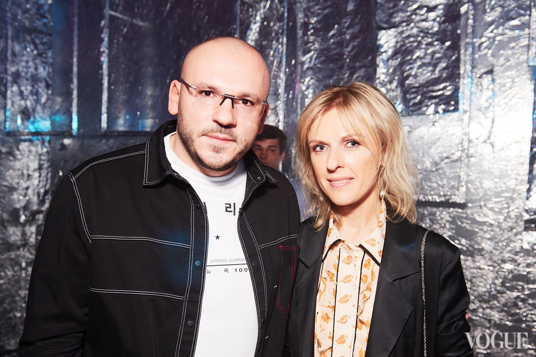 Дмитрий Евенко и Юлия Костецкая