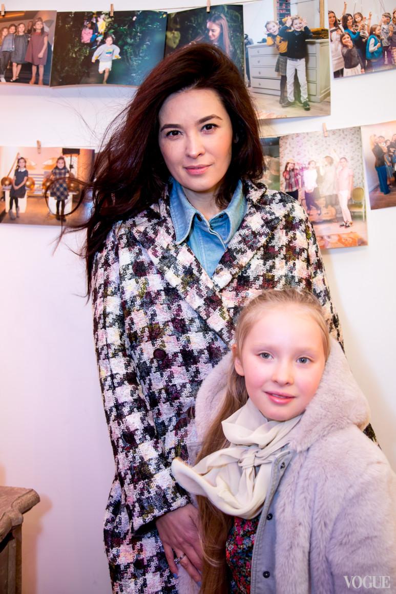 Елена Рева с дочерью