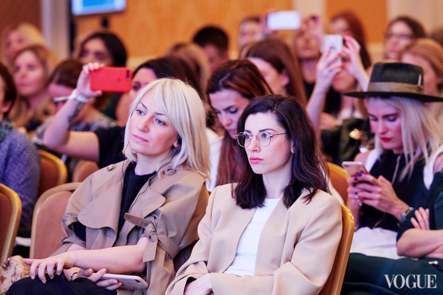 Ася Мхитарян и Светлана Бевза