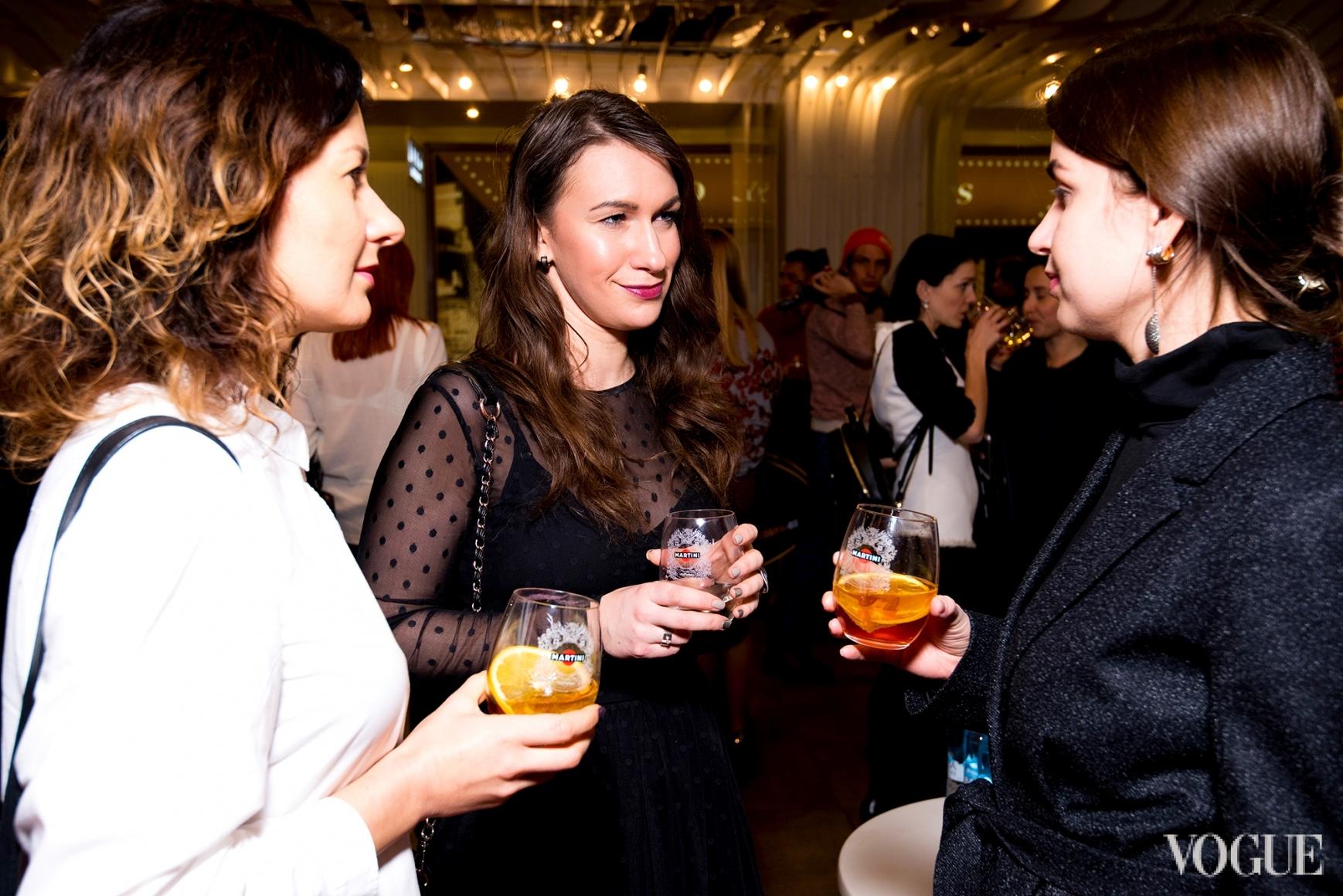 Светлана Рощук, Дарья Слободяник и Елена Добрынская