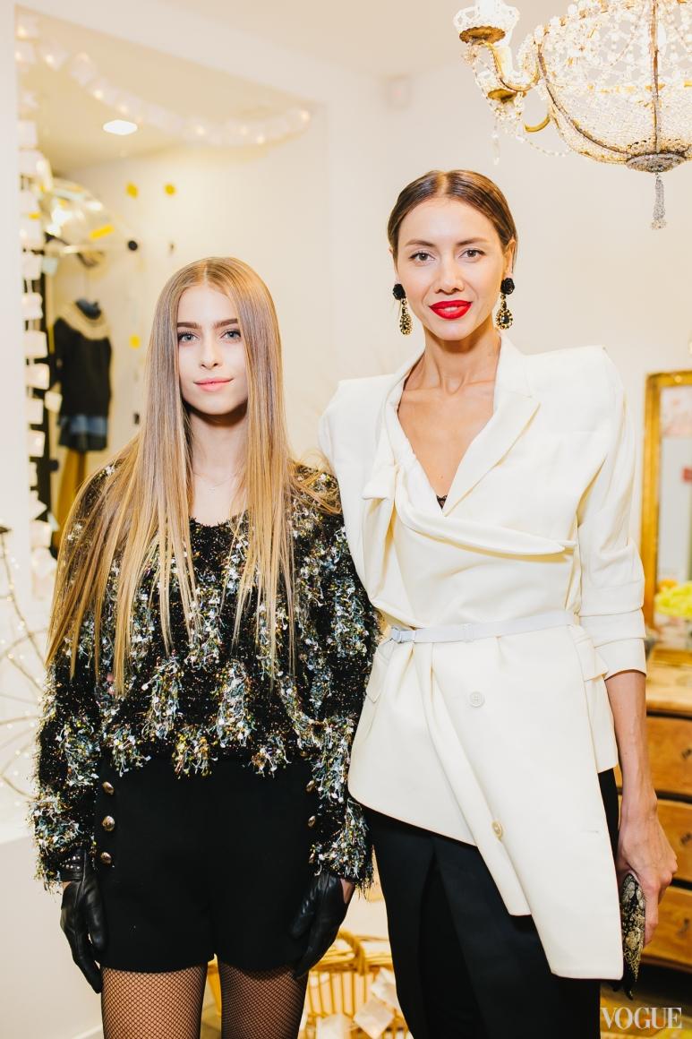 София Евдокименко и Юлия Пелипас