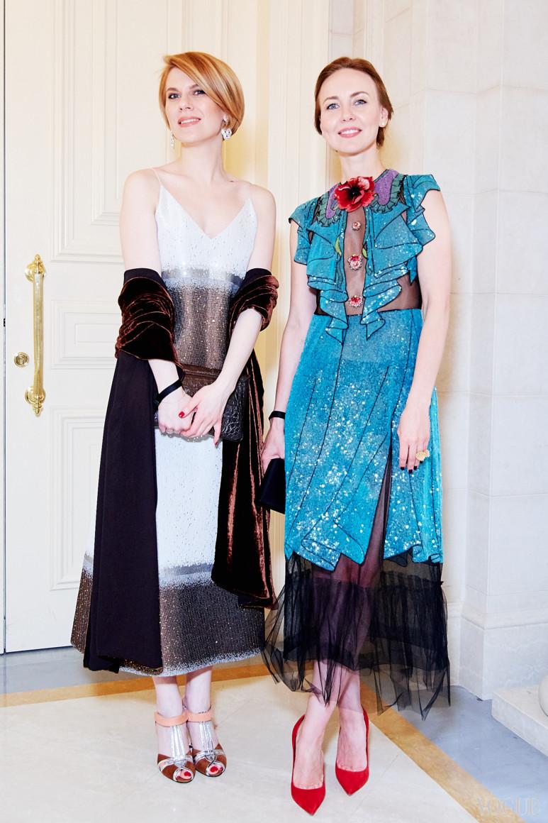 Наталья Листопад и Янина Новицкая