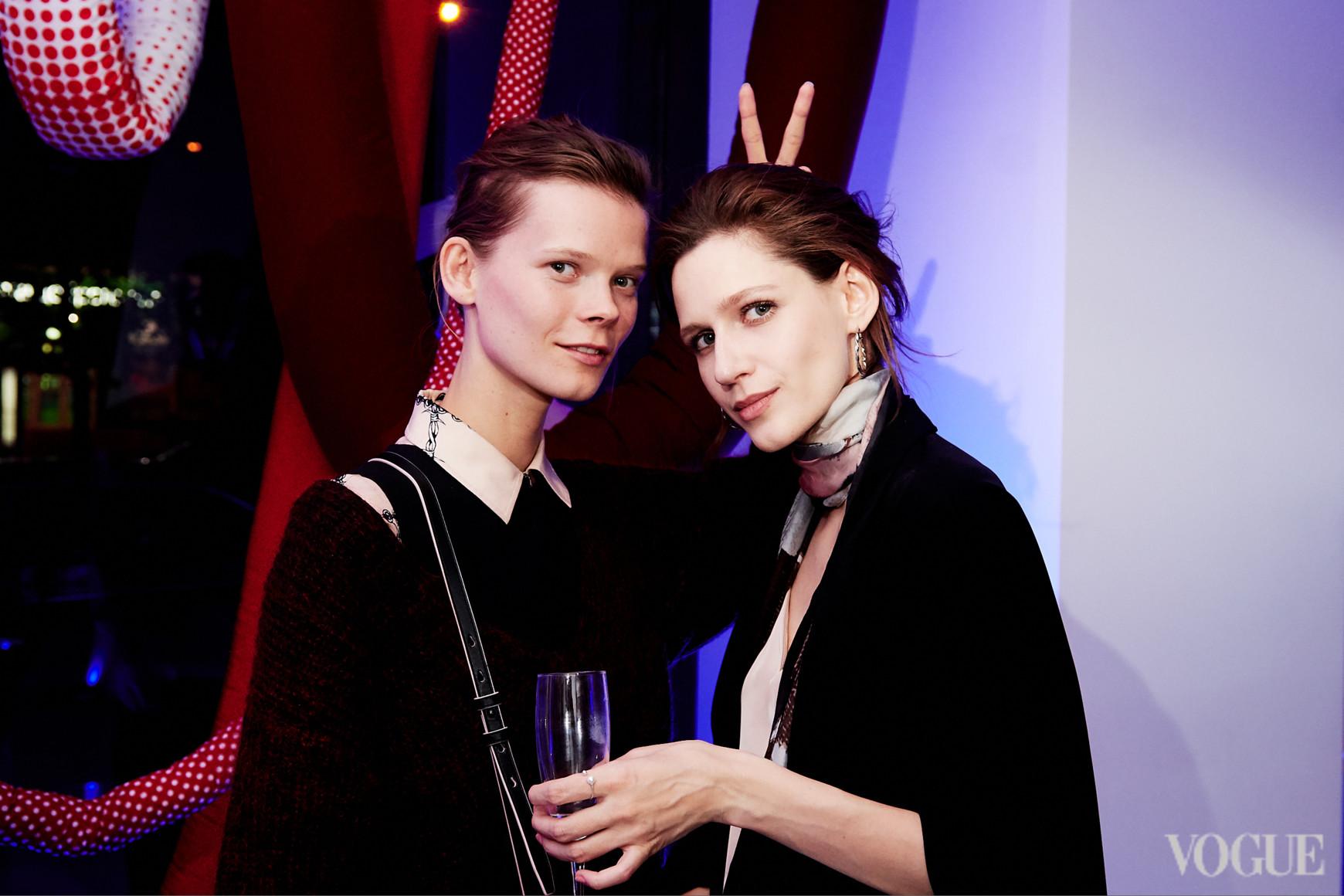 Ирина Кравченко и Элла Задавысвичка