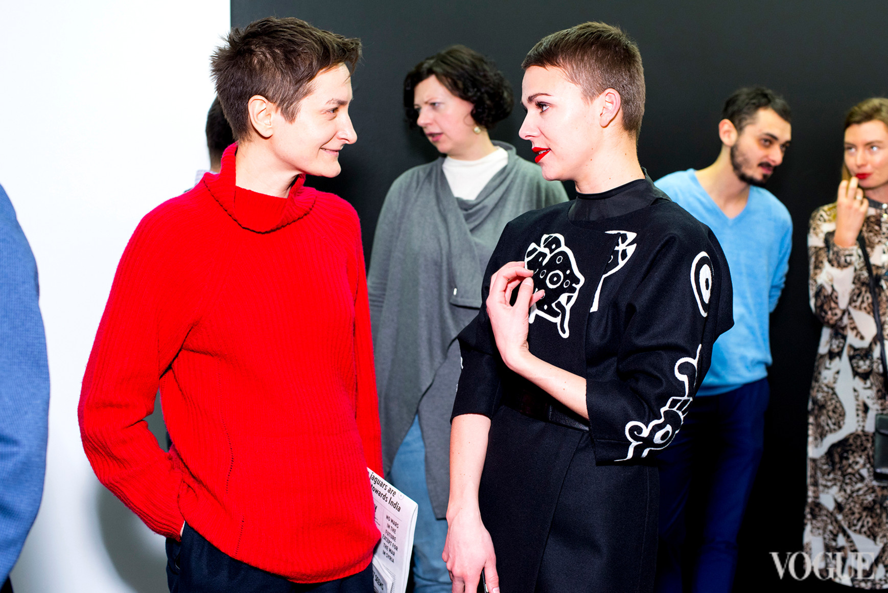Татьяна Соловей и Катя Березницкая