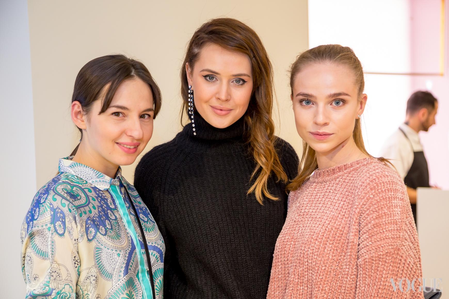 Виолетта Федорова, Катя Марьяш и Яна Дорошенко