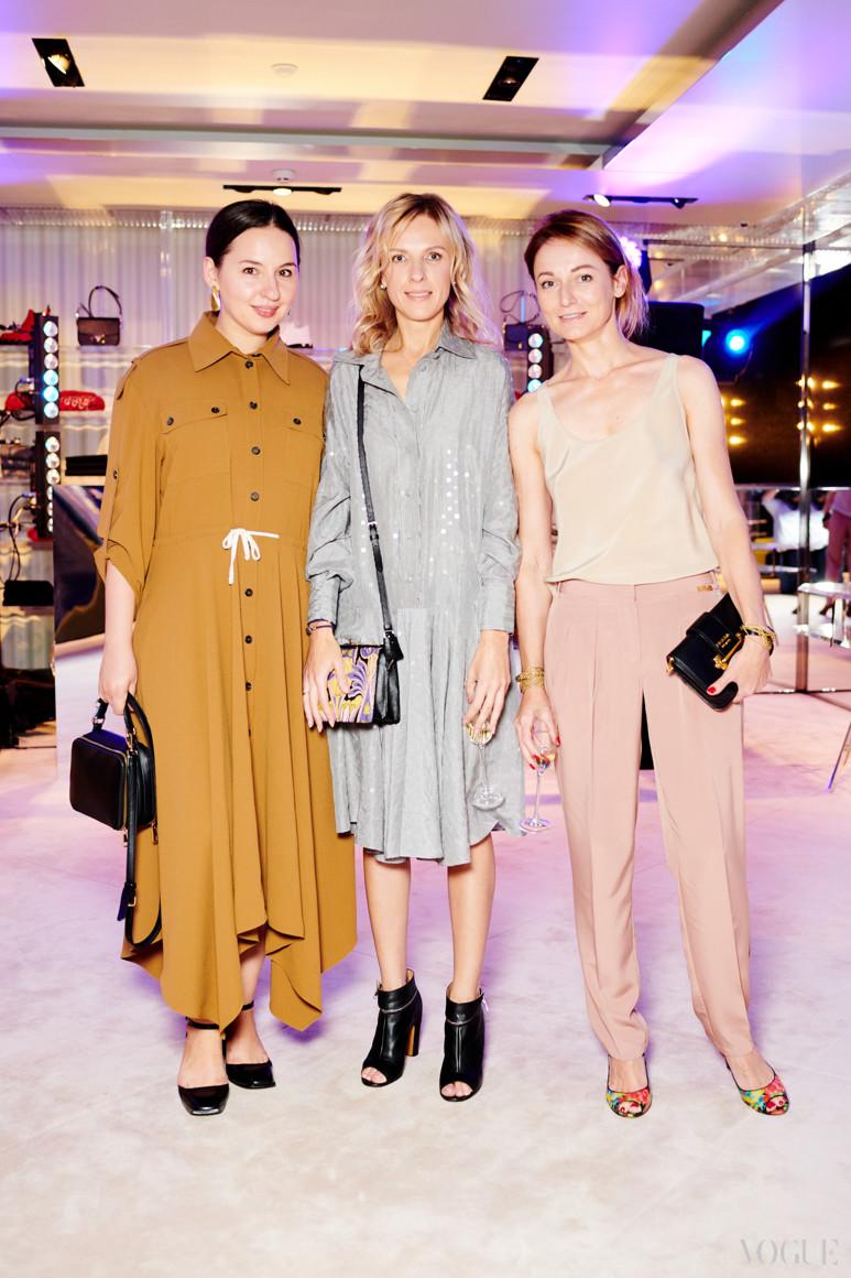 Виолетта Федорова, Юлия Костецкая и Татьяна Деменкова