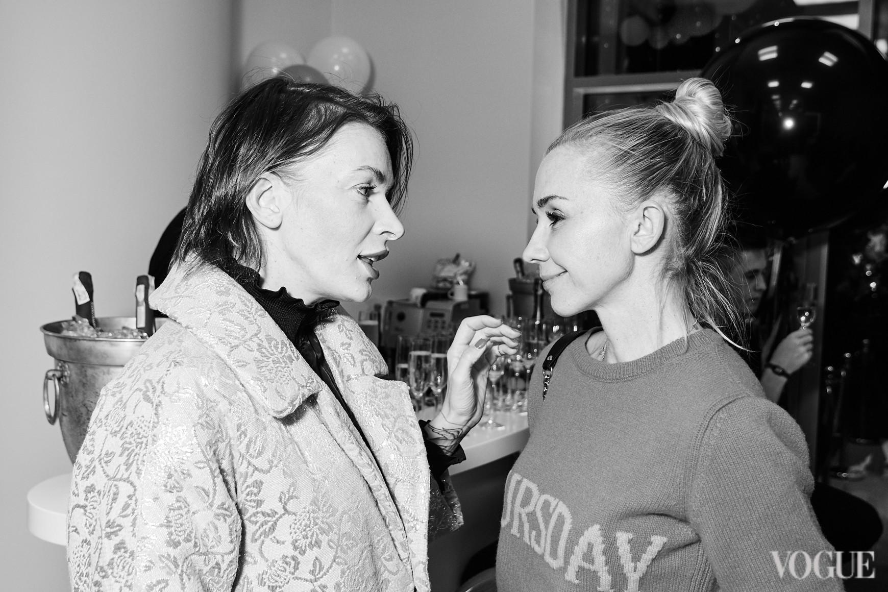 Полина Неня и Ирина Турбаевская