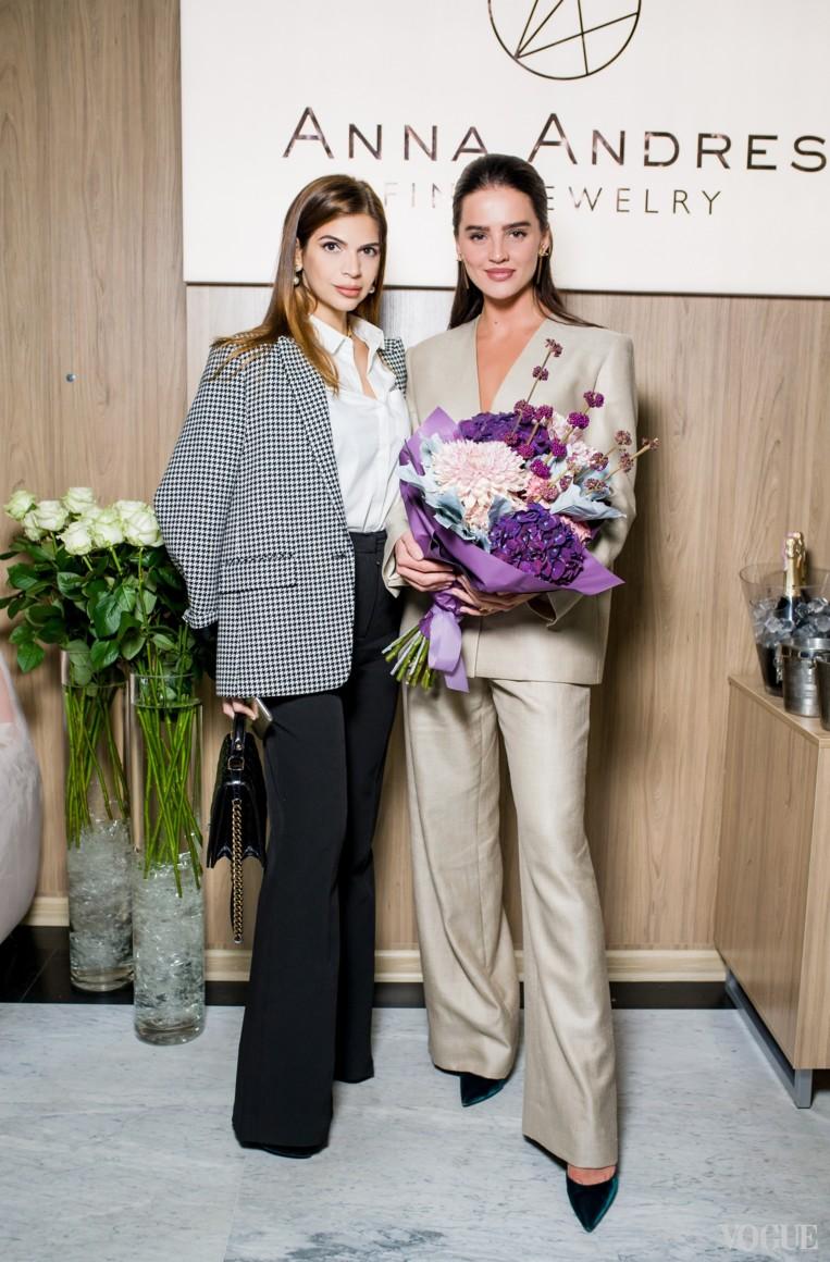 Алина Алиева и Анна Андрес