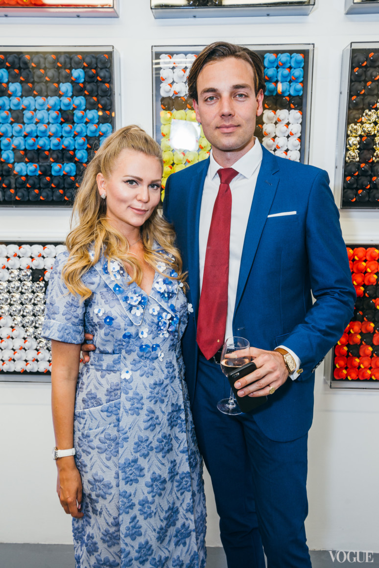 Ольга Ломака и Давид Гигаури