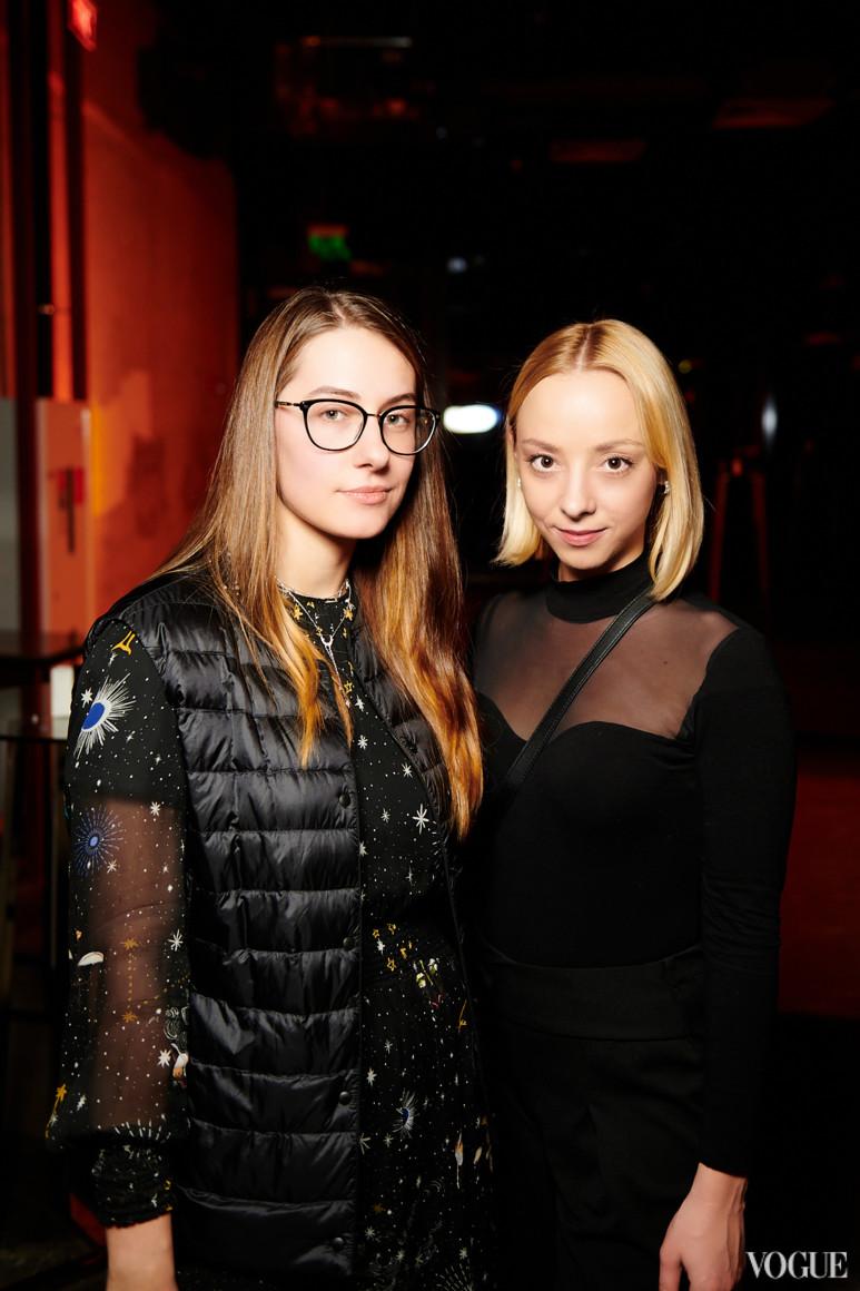 Мария Жданова и Карина Бербенец