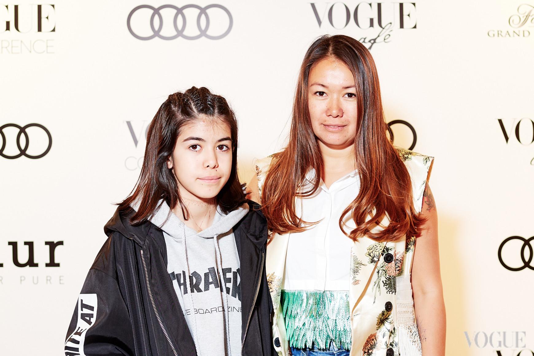 Лида Петрова с дочерью