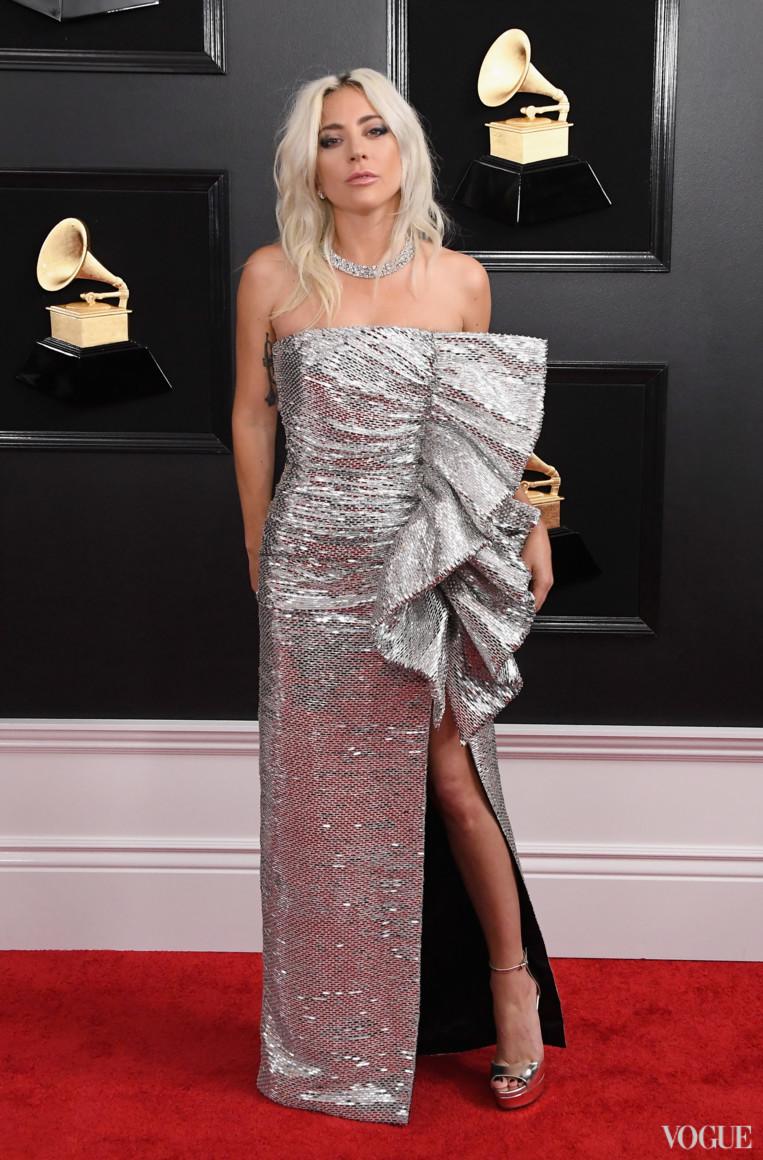 Леди Гага в Celine by Hedi Slimane